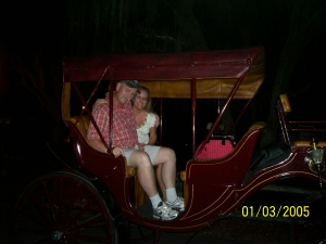 Carriage ride at Fort Wilderness - 2009