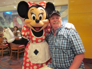 C. Rickrode & Minnie Mouse - 2011 - WDWPhoto by P. Rickrode