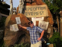 C. Rickrode - 2012 - Animal Kingdom Park - WDWAfter (finally) riding Expedition EverestPhoto by P. Rickrode