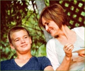 Brenda and son
