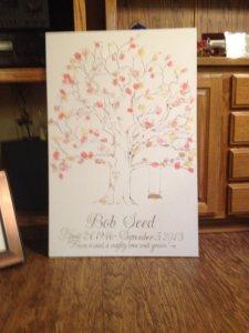 Bob Seed memory tree