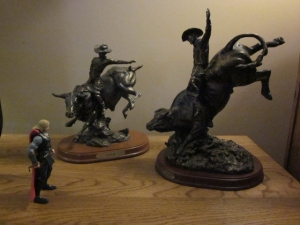 Thor meets the bulls. Original photo by P. Rickrode