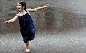little girl in rain 2
