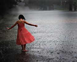 little girl in rain 4