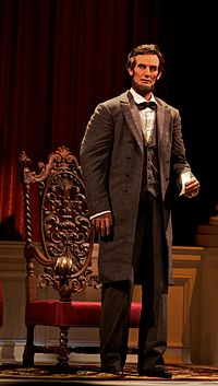 Abraham Lincoln, from Great Moments With Mr. Lincoln attraction at Disneyland. Photo courtesy Wikipedia