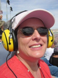 Nascar race at Las Vegas Speedway. Photo by C. Rickrode