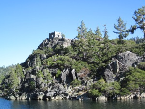 Tea House at Vikingsholm Castle - Emerald Bay - South Lake Tahoe - 2011