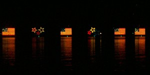 Electric Water Pageant. Seven Seas Lagoon - Walt Disney World. 2009