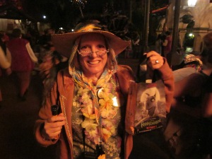 Me at the Not So Scary Halloween Party - Magic Kingdom Park - Walt Disney World - 2012