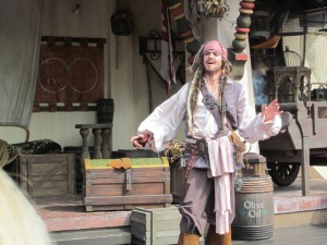 Captain Jack Sparrow - Magic Kingdom Park - Walk Disney World - 2012