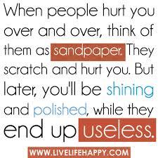 sandpaper quote