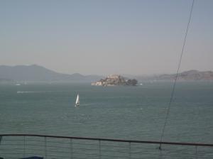 Alcatraz Island. Photo by P. Rickrode 2014.