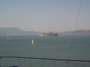 Alcatraz Island. Photo by P. Rickrode 2014.
