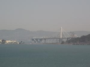 Bay Bridge. Photo by P. Rickrode 2014.