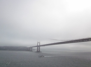 Golden Gate Bridge. Photo by P. Rickrode 2014.