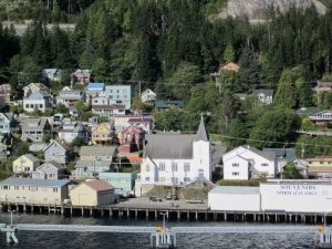 Lutheran Church - Ketchikan, Alaska. Photo by P. Rickrode 2014.