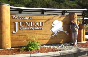 Welcome to Juneau. Photo by C. Rickrode 2014.