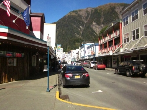 Historic Juneau, Alaska. Photo by P. Rickrode 2014.