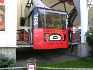 Mount Roberts Tram - Juneau, Alaska. Photo by P. Rickrode 2014.