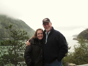 Me and my sweetie pie. Dyea, Alaska 2014.