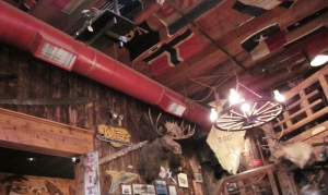 Red Dog Saloon, Juneau, Alaska. Photo by P. Rickrode, September 2014.