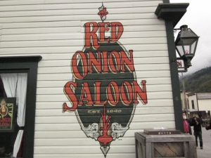 Red Onion Saloon, Skagway, Alaska. Photo by P. Rickrode, September 2014.