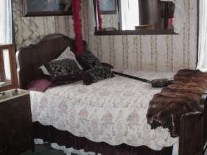 "The ""madam's"" room. Red Onion Saloon, Skagway, Alaska. Photo by P. Rickrode, September 2014."
