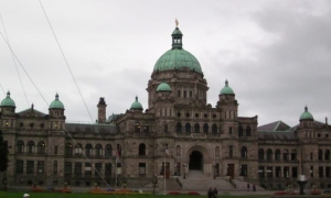 Federal Building, Victoria BC. Photo by P. Rickrode September 2014.