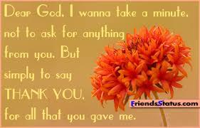 Thanksgiving God