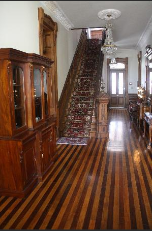 Baer House hallway