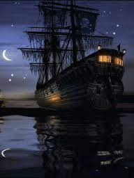 Black Pearl. Pirates of the Caribbgean. Photo courtesy Google Images.