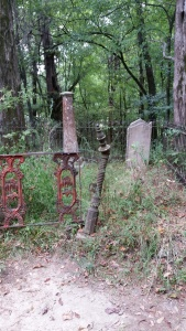 Graveyard @ Rocky Springs church. Photo by P. Rickrode, August 2015.