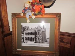 Baer House photo, circa 1890. Photo by P. Rickrode, November 2015