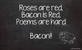 bacon poem quote