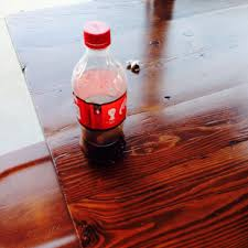 empty soda bottle