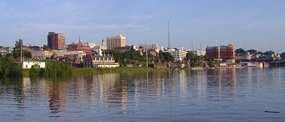 Vicksburg waterfront