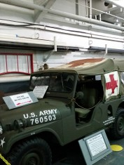 Original Jeep used in the show MASH. (Original photo by P. Rickrode.)