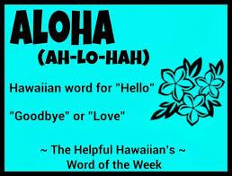 Hawaiian word