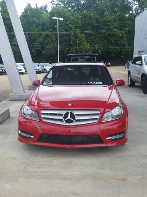 my Mercedes