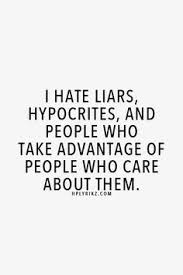 I hate liars meme