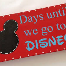 days to Disney