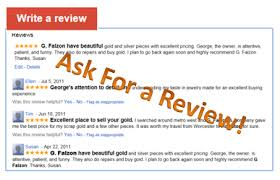 ask for review