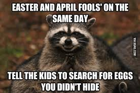 Easter and April fools
