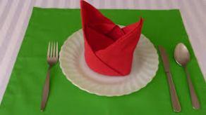 folded napkin 1