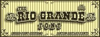 Rio Granda font