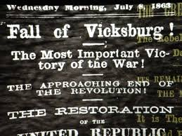 fall of Vicksburg