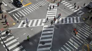 diagonal crosswalk