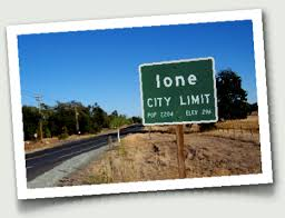 ione city limit