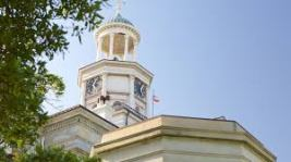 bell tower old courthouse