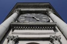 courthouse museum clock